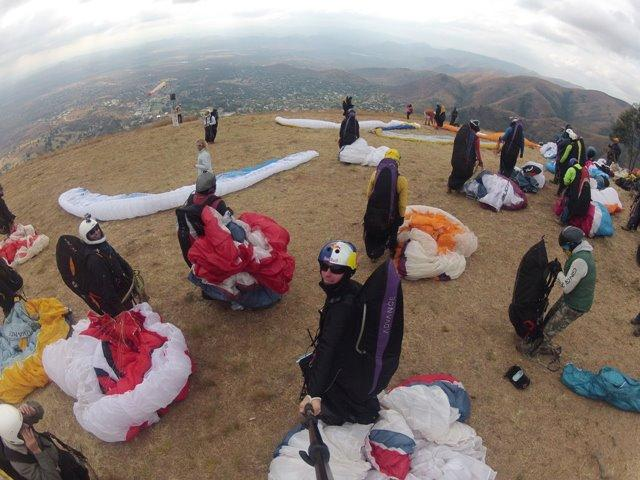 Paragliding-Cape-Town-Comp-Start
