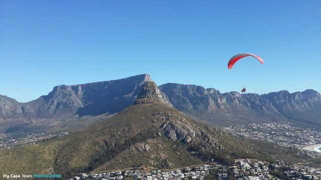 Paragliding-Cape-Town-Table Mountain-Martin