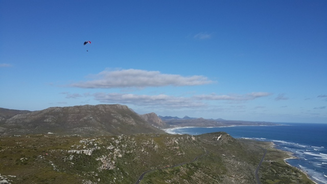 Learning How to Paraglide in Cape Town