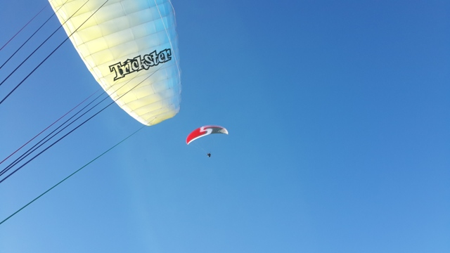learning how to paraglide