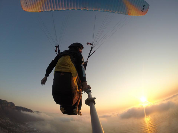 Paragliding-Lions-Head-Sunset