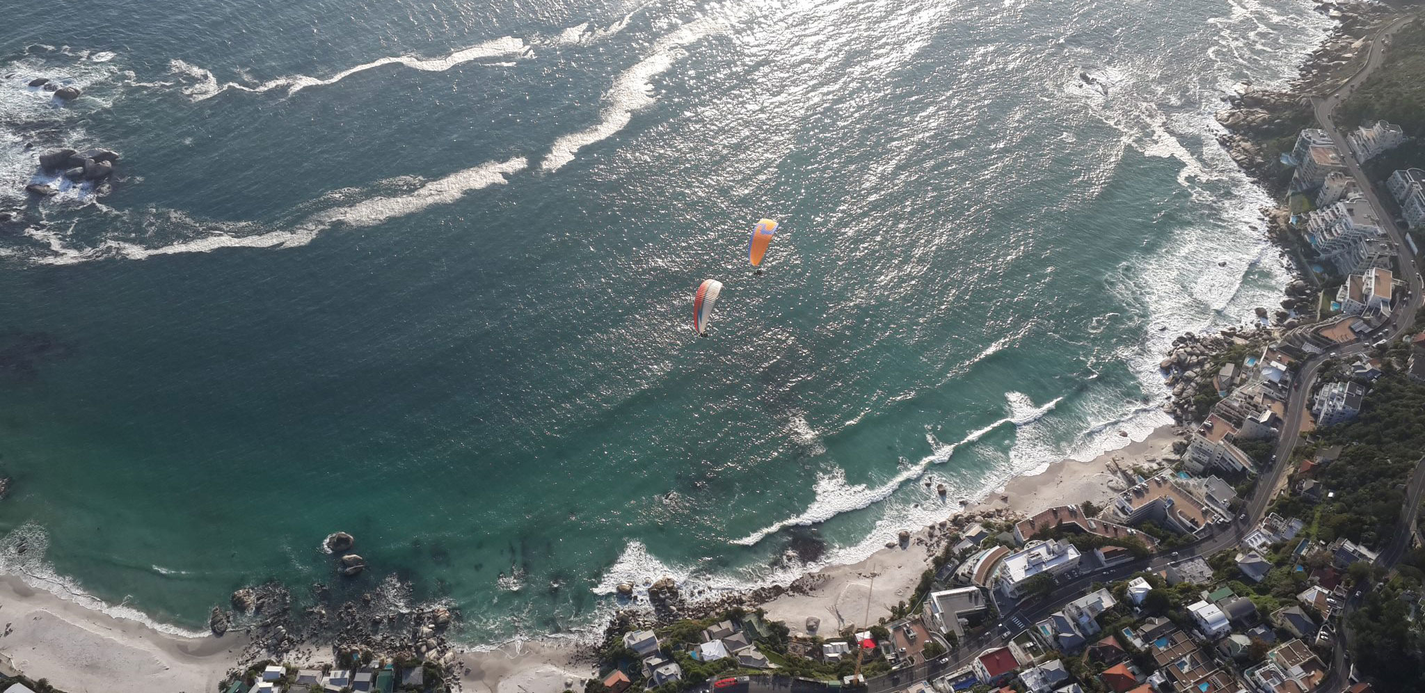 tandem paragliding bookings cape town
