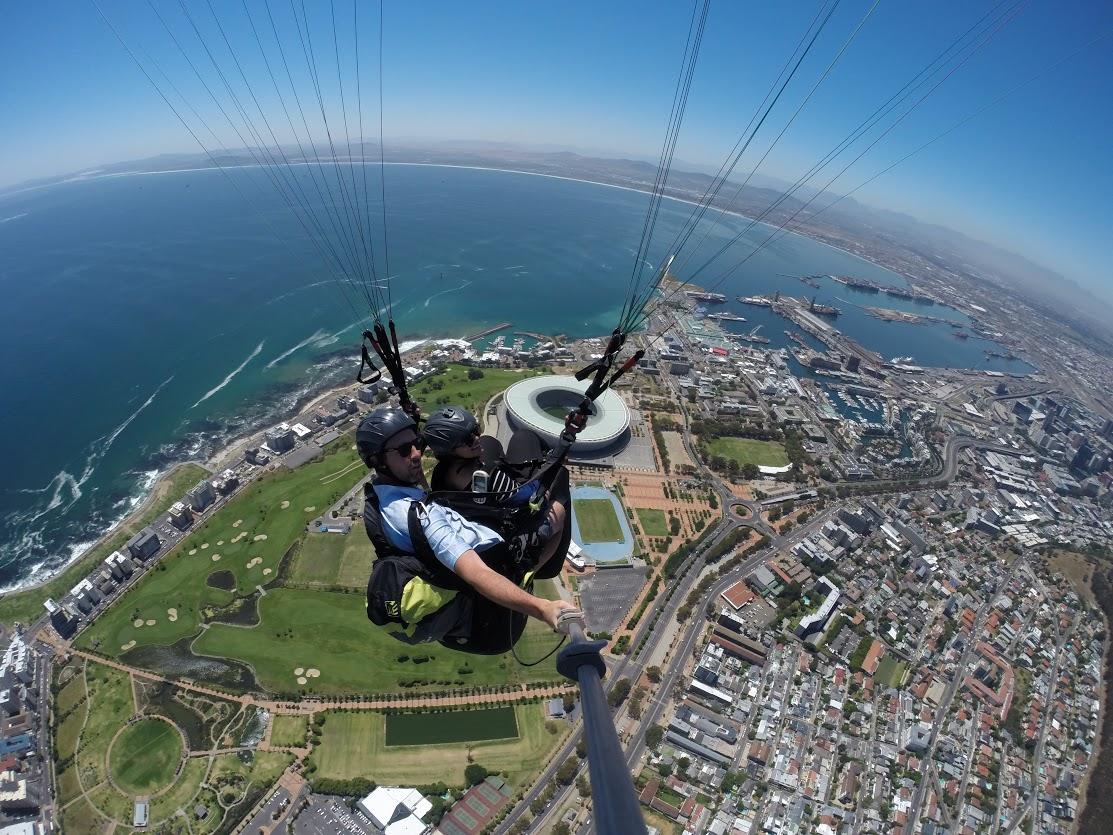 learn paragliding
