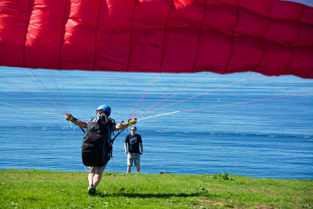 basic paragliding course