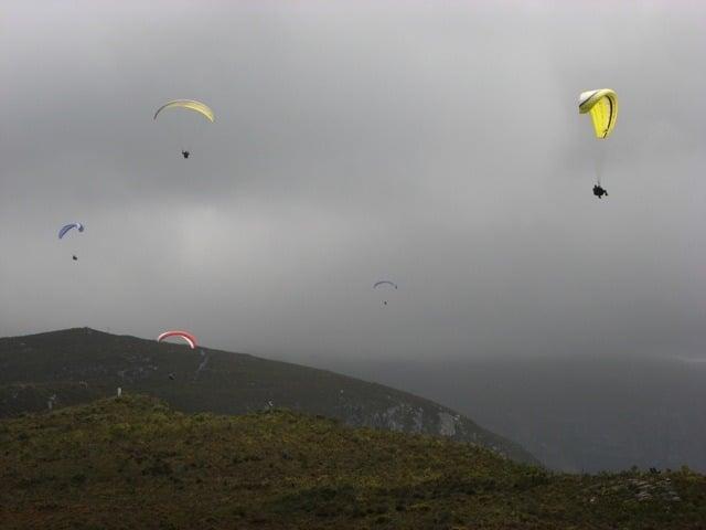 paragliding newbies