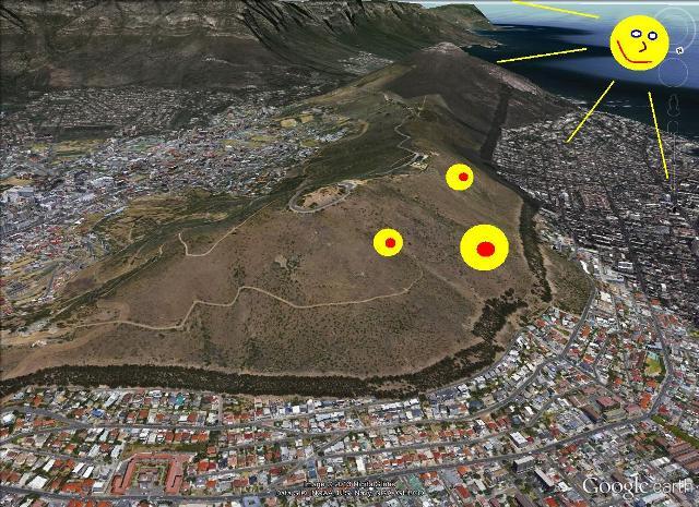 Paragliding-Cape-Town-Sun
