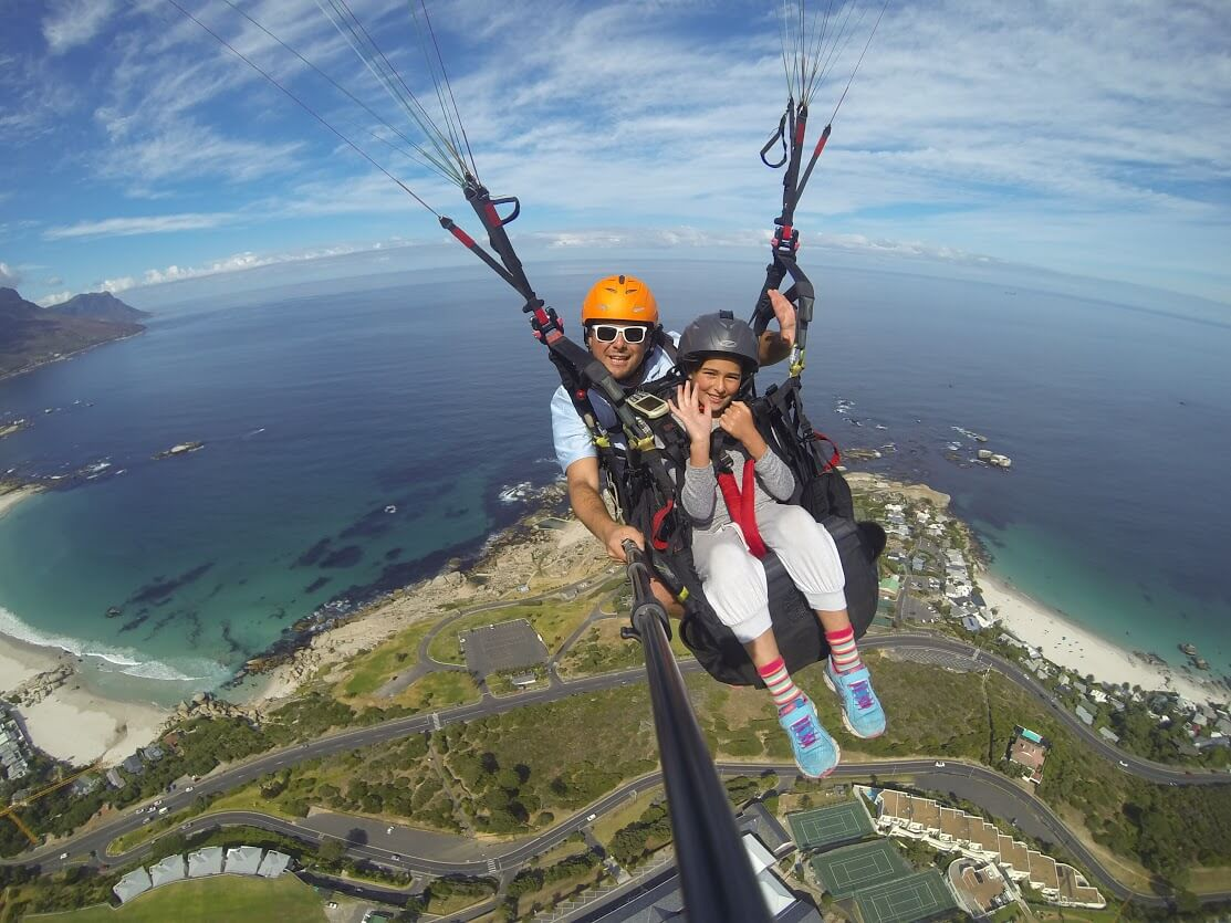 how to learn paragliding