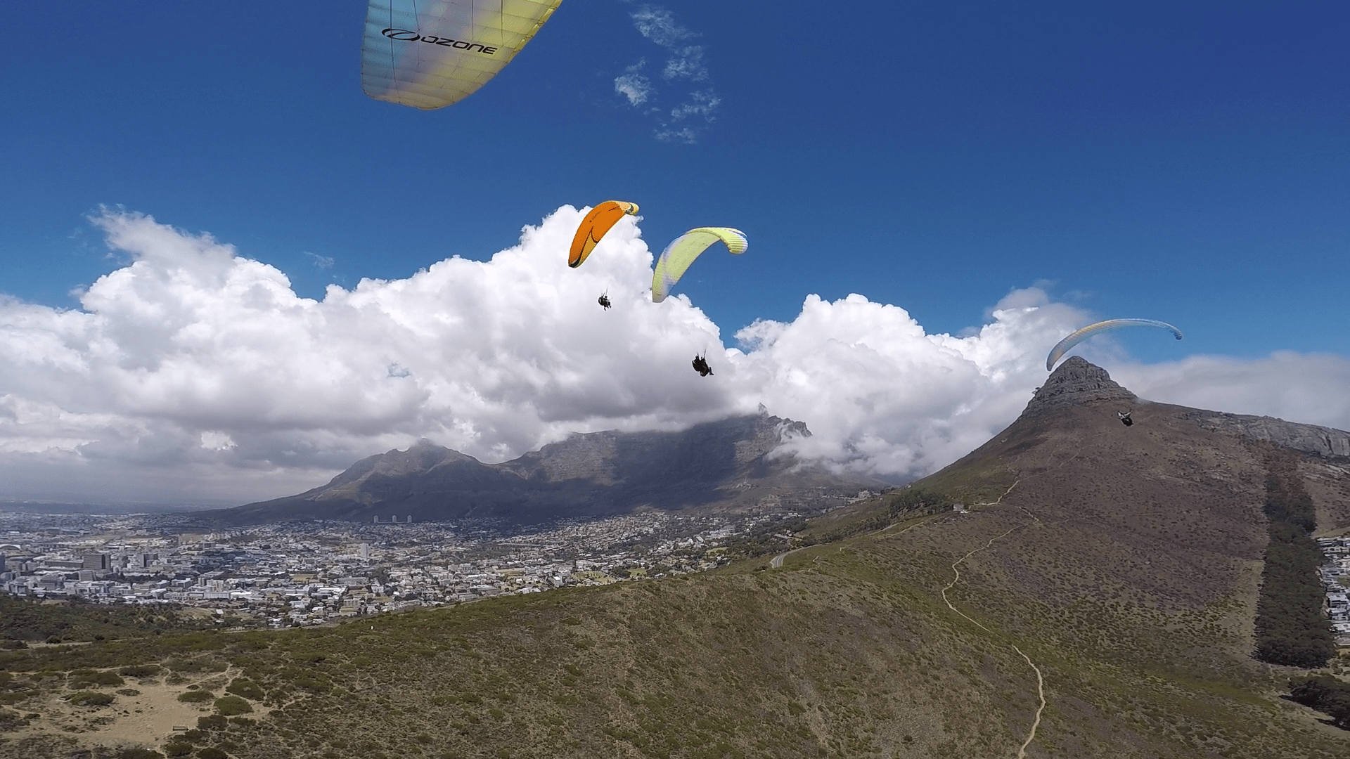 how to fly a paraglider